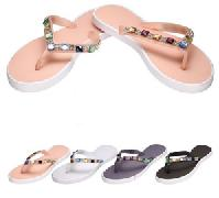 Ladies Flip Flops--Jewel